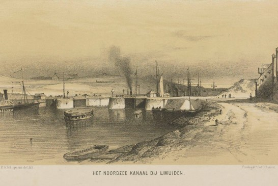 Het ontstaan van IJmuiden